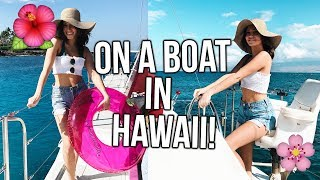 YOUTUBE GIRLS ON A BOAT IN HAWAII!!!