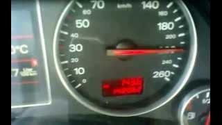 audi a4 avant 1 9 tdi 96kw 131ps max speed on german autobahn