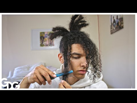 Combing Out My Freeform Dreadlocks