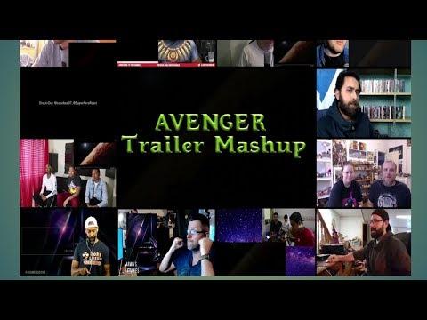 Avenger Infinity War Trailer Reaction । Mashup।