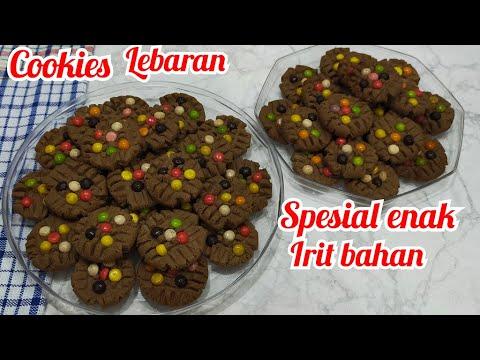Cookies Chocolatos Coklat Enak Spesial Lebaran Ide Bisnis Jualan Aneka Kue Kering Lebaran Youtube