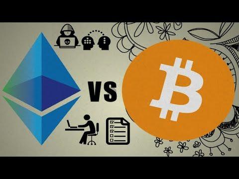 Ethereum vs Bitcoin | Explained (For Beginners)