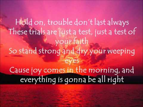 Be Encouraged by William Becton (Lyrics)