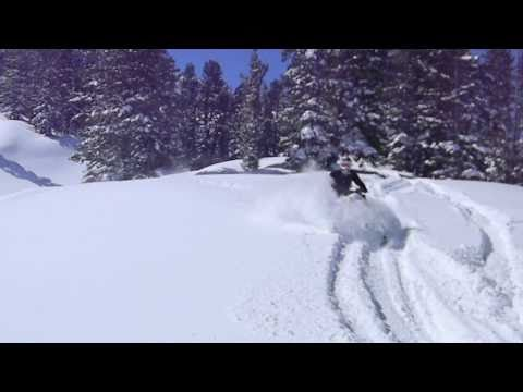 DEEP DRY Utah Powder Snowmobiling
