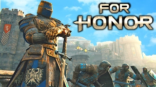 FOR HONOR - How To Win Every Dominion Match In For Honor!!! For Honor Open Beta Gameplay