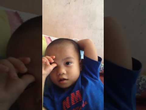 2years old boy tagalog to english .ang cute