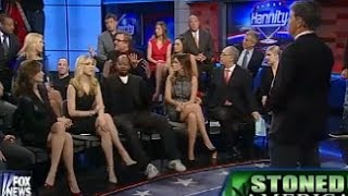 Hannity Hosts Clownshow Weed Panel