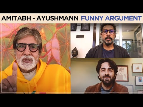 Gulaabo Sitabo | Amitabh Bachchan, Ayushmann Khurrana Funny Trailer Announcement