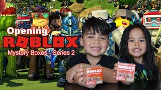 Opening Series 2 Roblox Mystery Boxes Feat. MALACHI!