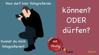 Common Mistakes in German | können oder dürfen? | Learn German | A1 | A2 thumbnail