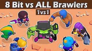 8 BIT vs ALL   1 vs 1   The strongest brawler   Brawl stars