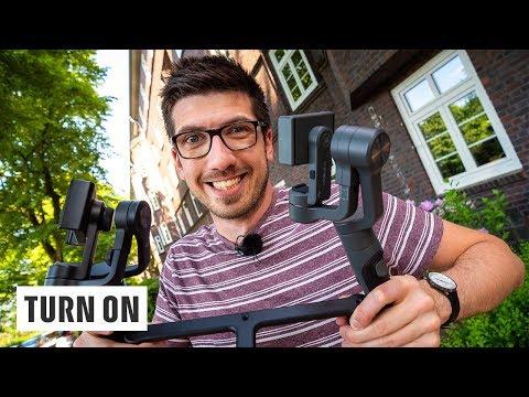 Smartphone-Gimbal: 5 Modelle für verwacklungsfreie Videoaufnahmen