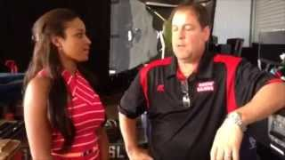Eden gets some advice from Tony Chimel - Video Blog: August 13, 2014