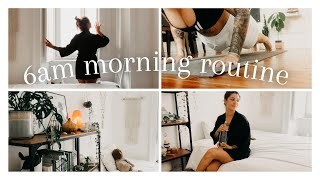 intentional morning routine 2021   6am productive, healthy & chill morning routine