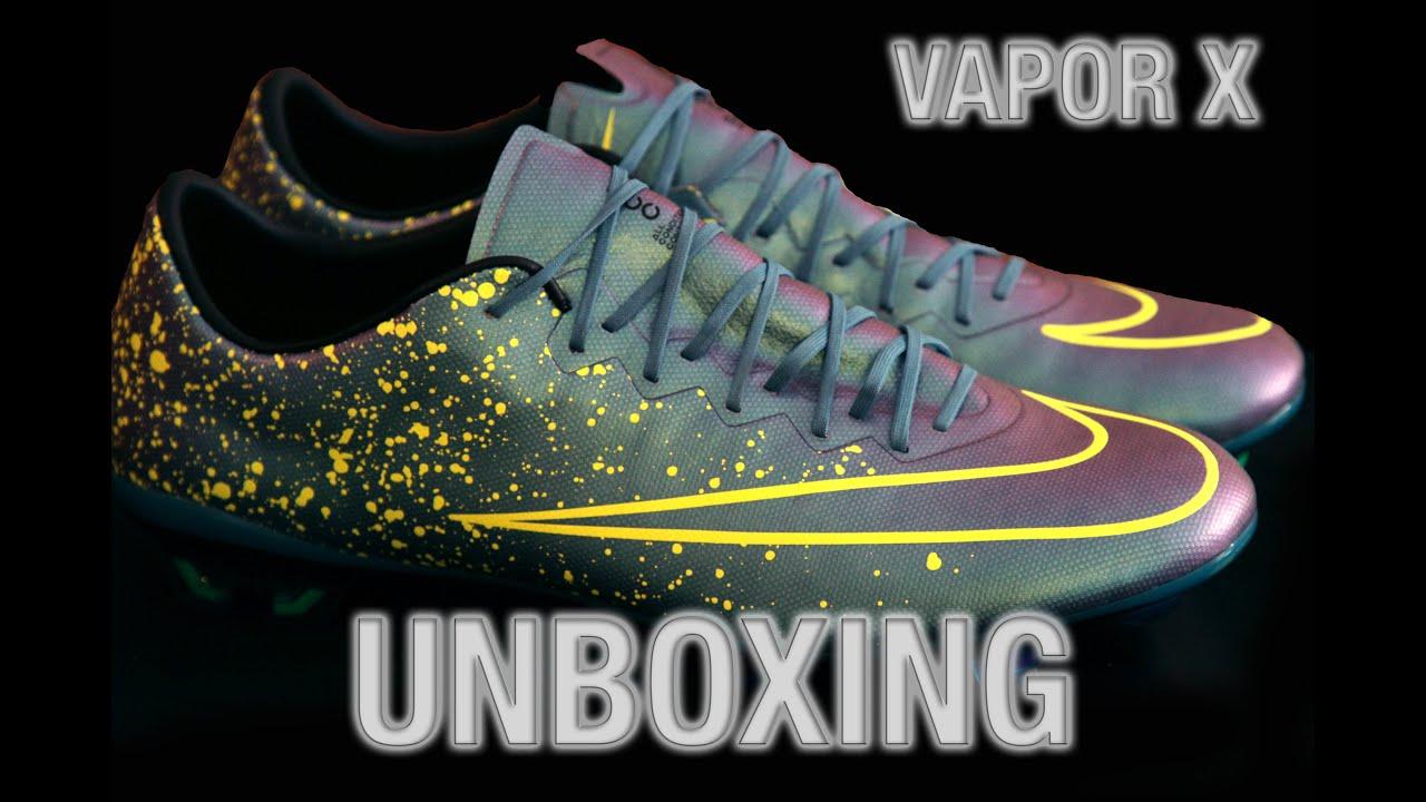 Unboxing-Nike Mercurial Vapor X FG-PRO - YouTube