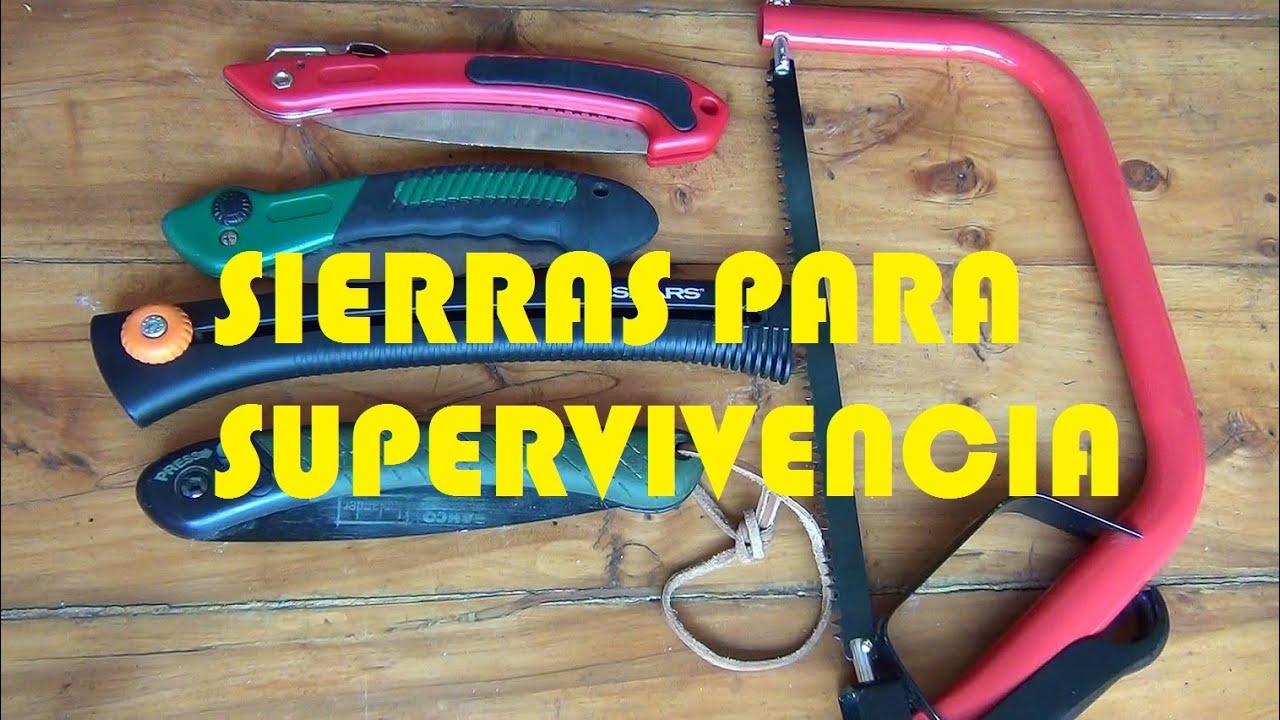 Prueba de sierras para supervivencia y bushcraft youtube - Sierra para cortar madera ...