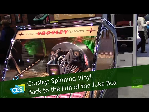 Crosley: Spinning Vinyl Back to the Fun of the Jukebox at CES 2017