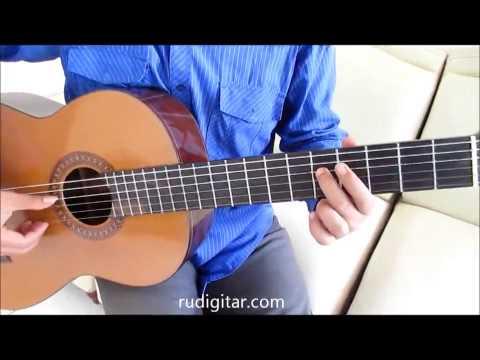 Belajar Kunci Gitar Dewa Separuh Nafas Intro