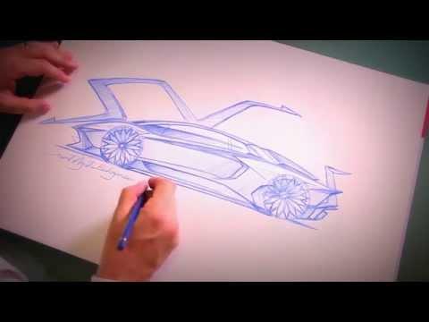 New Lamborghini Aventador SV - Lamborghini's design chief Filippo Perini