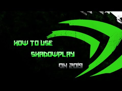 TOTURIAL HOW TO ENABLE NVIDIA SHADOWPLAY OR NVIDIA SHARE  ON  2018/2019