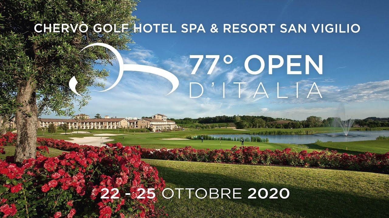 77° Open d'Italia 2020 Chervò Golf SPA & Resort San Vigilio - YouTube