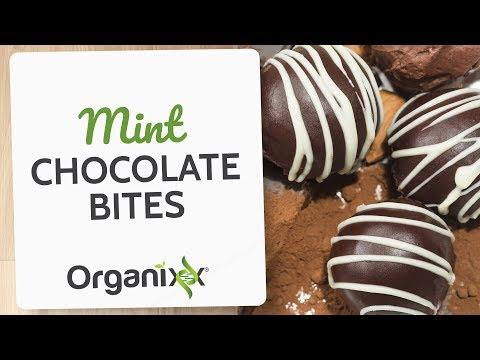 Mint Chocolate Coconut Bites With Essential Oils | Organixx Recipe