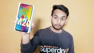 Samsung Galaxy M20 Unboxing and Review - Unbox Analyst