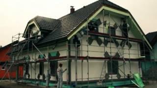 Технология мокрого фасада от фирмы JUB, Словения.