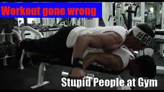 Workout gone wrong / Stupid People at Gym / Epic Gym Fails Compilation