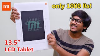 "Xiaomi 13.5"" LCD Tablet for only 1000 Rs... 😱🔥"
