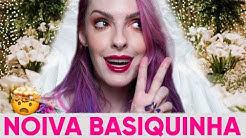 MAKE GÓTICA PARA UM CASAMENTO DE DIA - Karen Bachini