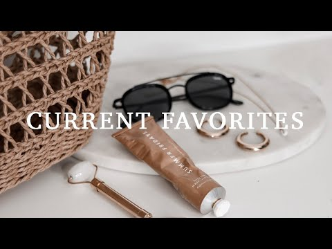 CURRENT FAVORITES I'M OBSESSED WITH thumbnail