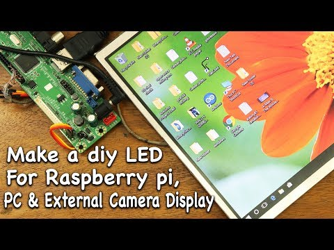 """Make a 10"""" LED Display  for all Devices (V69 LCD/LED CONNECTION FIX)"""