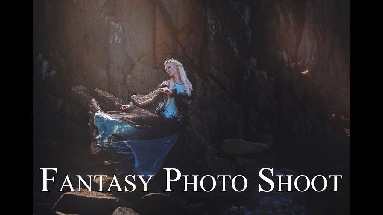 Behind the scenes - Fantasy Photo shoot