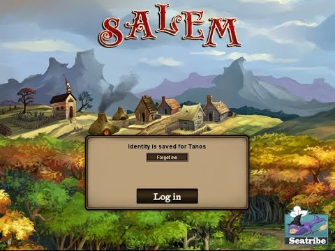 Salem - Tutorial - Episode 12 - Providence NPC Sellers & Player Trading Stalls!!