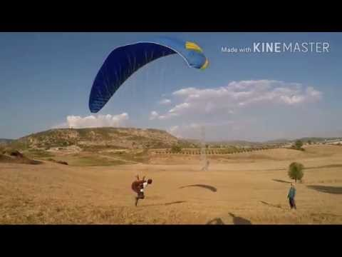 My paragliding education and first flight