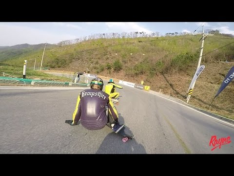 Downhill Skateboard Racing: Arirang Hill Fest 2017