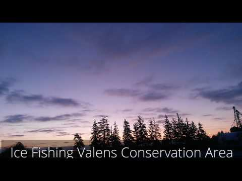 Valens Ice Fishing 2016 MASSIVE BLOB FISH