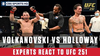 Ufc 251 Highlights & Reaction: Volkanovski Retains Featherweight Title Over Holloway | Cbs Sports Hq