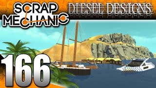 Scrap Mechanic Gameplay :E166: Yachts & Boats! (HD Community Build)