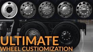 American Truck Simulator [Beta 1.2] - Ultimate Wheel Customization