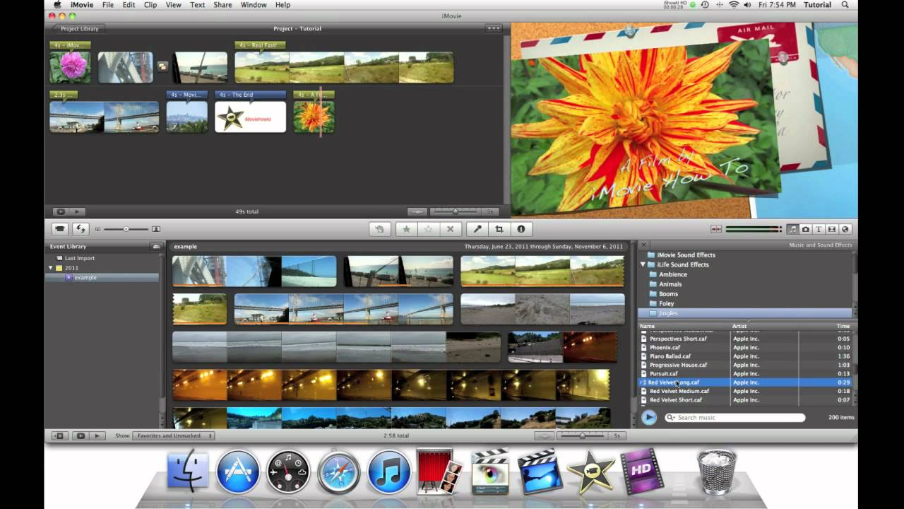 imovie projects How to create a new project in imovie with this step-by-step guide.