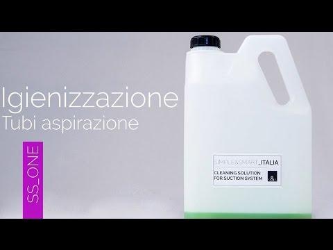 SS_ONE DENTAL UNIT - SIMPLE & SMART ITALIA - IGIENIZZAZIONE DEI TUBI DI ASPIRAZIONE