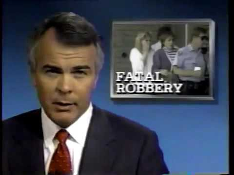WCPO 1988 News Open and clips of Bank Robbery and Murder - Cincinnati Ohio 80s