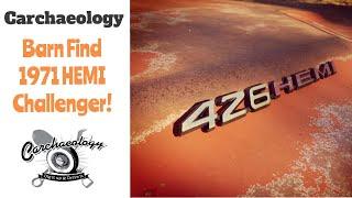 Carchaeology: Barn Find 426 Hemi Challenger