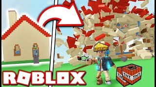 FELROBBANTJUK A ROBLOXOT!!! Roblox Destruction Simulator!!