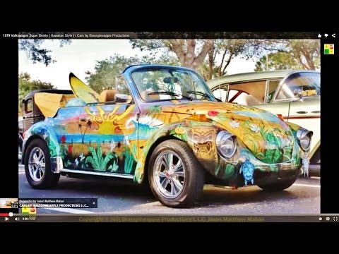 1979 Volkswagon Super Beetle ( Hawaiian Style ) / Cars by Brasspineapple Productions