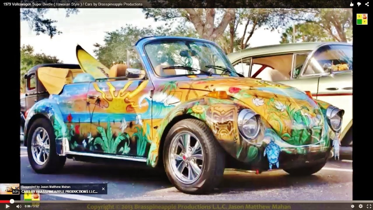 1979 volkswagon super beetle hawaiian style cars by brasspineapple productions youtube. Black Bedroom Furniture Sets. Home Design Ideas