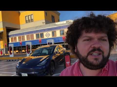 Tesla SuperCharger in San Luis la Paz Mexico Review