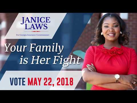 Janice Laws - Elect to Georgia Insurance Commissioner 2018